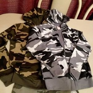 Other - 2 CAMO THERMAL HOODIES